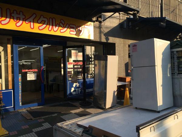 冷蔵庫の運搬作業(相模原市~練馬区)