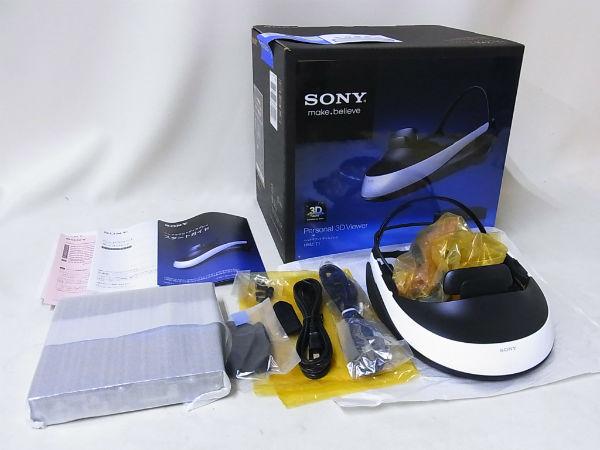 SONY HMZ-T1 3D対応ヘッドマウントディスプレイ