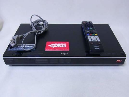SHARP BD-W510 W録 3D対応 BDレコーダー