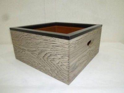 茶道具 焼杉製  置炉