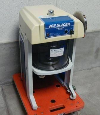 中古業務用中部アイススライサー電動かき氷り機HF-700P初雪