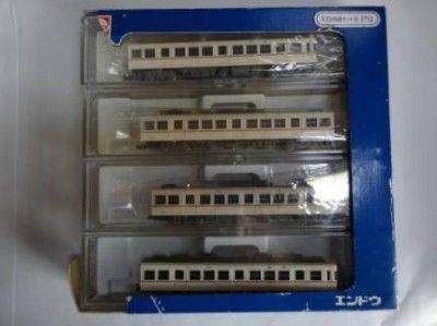 エンドウ金属製Nゲージ9702京王5000系4輌