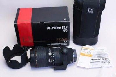 シグマ AF 70-200mmF2.8 APO EX HSM
