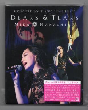 中島美嘉 CONCERT TOUR 2015 BEST DEARS & TEARS Blu-ray