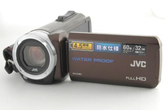 デジタルビデオカメラJVC Everio GZ-R70-T