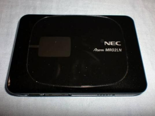 NEC Aterm MR02LN simフリー モバイルルーター
