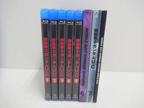 機動戦士ガンダムUC Blu-ray 全7巻