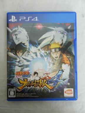 PS4 ナルト疾風伝 ナルティメットストーム4
