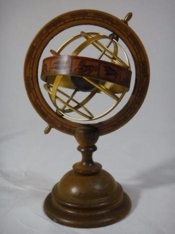 イタリア製 天球儀 アンティーク