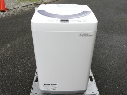 シャープ 洗濯機 ES-GE55N-S