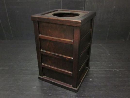 北海道民芸家具 ゴミ箱